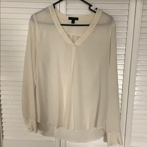 J Crew Ladies silk top.